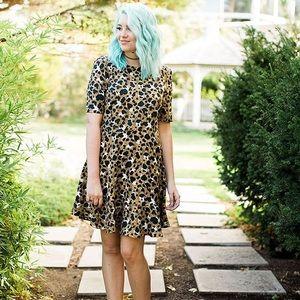 Leopard Print Style Dress